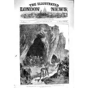 1879 Lundi Khana Khyber Pass Cave Samuel Browne Staff