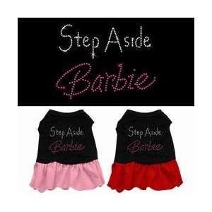 STEP ASIDE BARBI RHINESTONE BLACK/PINK