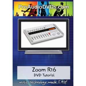 Zoom R16 DVD Video Tutorial Manual Help Movies & TV