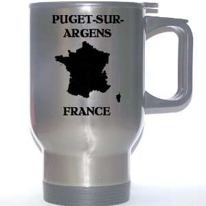 France   PUGET SUR ARGENS Stainless Steel Mug