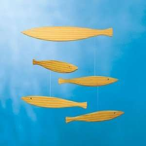 Flensted Mobiles Nursery Mobiles, Floating Fish Baby