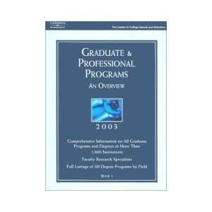 FULL LISTINGS OF ALL DEGREE PROGRAMS BY FIELD BOOK 1