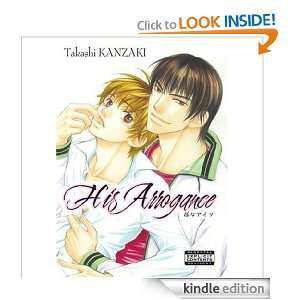 His Arrogance (Yaoi Manga): Takashi Kanzaki:  Kindle Store