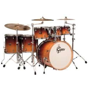 Maple CMT E826P MOF 6 Piece Drum Set Mocha Fade Musical Instruments