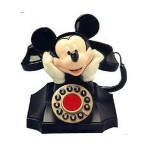 Classic Kids Telephone Disney Mickey Mouse Talks