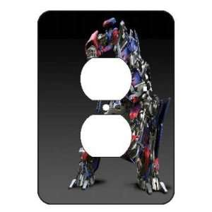 Optimus Prime de Transformers Light Switch Outlet Covers