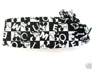 Old School Mickey Mouse Cummerbund and Tie