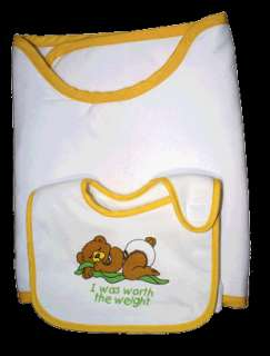 PERFECT BABY GIFT  STAY PUT BABY BIBS & BURP CLOTHS