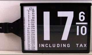 WAYNE 515   615 VISIBLE GAS PUMP PRICER BOX FREE S&H |
