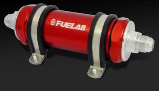 Fuelab In line Fuel Filter 82803  10AN 10 Micron