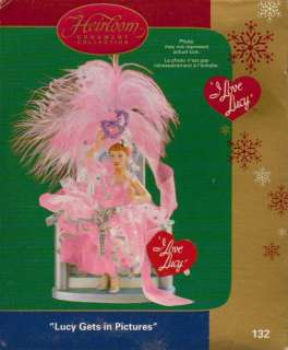 CARLTON 2005 LUCY GETS IN PICTURES I Love Lucy NIB