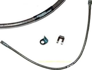 Jeep TJ, XJ, ZJ Rear Stainless Braided Brake Line