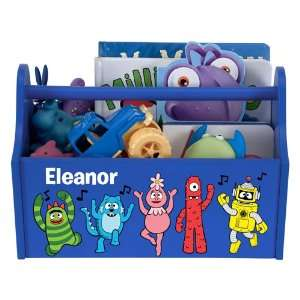 Yo Gabba Gabba! Music Notes Blue Toy Caddy Baby