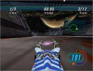 Star Wars Episode 1 Racer PC CD alien pod racing game