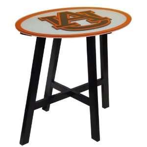 Auburn University Tigers AU NCAA Logo Pub Table Sports