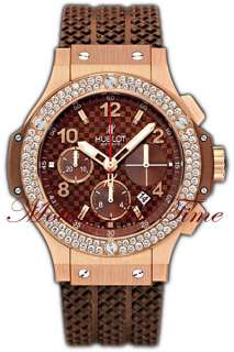 Bang Cappuccino Diamond Rose Gold 41mm BINIB  REF# 341.PC.1007.RX.114