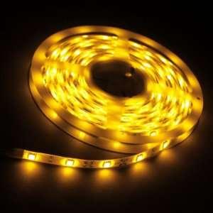 Yellow 5M 150 LED 5050 SMD Flexible Car DIY Strip Light