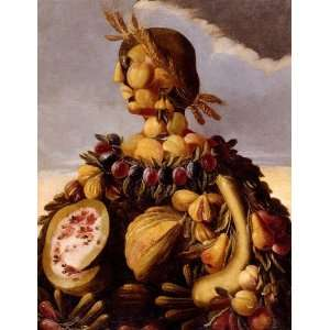 Giuseppe Arcimboldo   24 x 32 inches   The Seasons 4