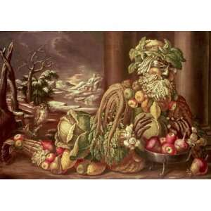 Giuseppe Arcimboldo   32 x 22 inches   Winter 1