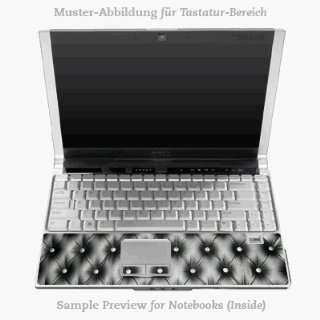 Design Skins for Apple MacBook Pro 17 Tastatur   Leather