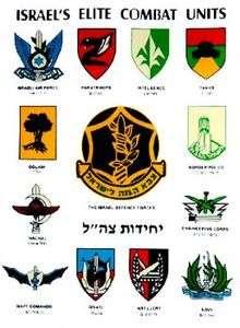 Combat Units Army Military Defense Forces IDF Zahal M XL T SHIRT