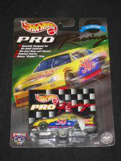HOT WHEELS PRO RACING TRADING PAINT LOT #13 40 43 96 + 1ST EDITION #50