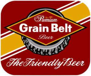 Grain Belt Beer Mouse Pad ( High Quality )