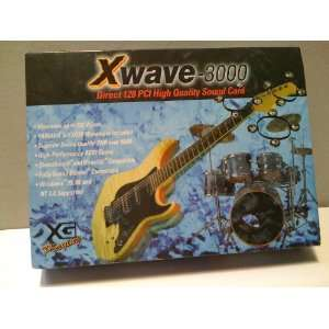 Xwave 3000 Direct 128 PCI High Quality Sound Card