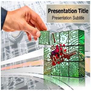 Technology Innovation PowerPoint Template   Backgrounds PowerPoint