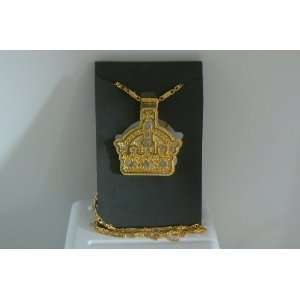 Urban Xperience Ice Necklace Crown with Bling and Long
