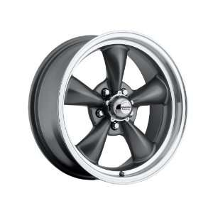 inch 15x7 / 15x8 100 S Classic Series Charcoal Gray aluminum wheels
