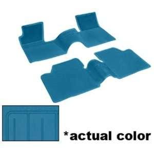 Chevy Bel Air/Biscayne/Chevelle/Nova Floor Mats   Medium Blue, 2pc 62