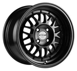 15 STANCE MINDSET ALL BLACK RIMS WHEELS 15x8 +25 4x100