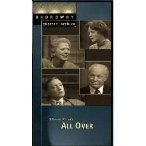 All Over (Broadway Theatre Archive) [VHS] Myra Carter