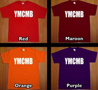 new YMCMB T Shirt young money lil wayne weezy tee