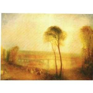 Joseph Mallord William Turner, R. A. Landscape with Walton