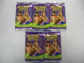 Pack Lot SCOOBY DOO 2 Movie Trading Cards