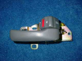 92 96 CAMRY INSIDE INTERIOR DOOR HANDLE GRAY GREY RIGHT
