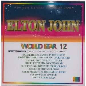 WORLD STAR 12 ELTON JOHN Karaoke VCD Everything Else