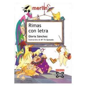 Rimas con letra / Rhymes with Words (Infantil E Xuvenil