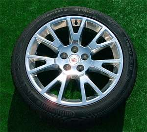 New 2012 OEM Factory Cadillac CTS Coupe Polished 19 inch WHEELS TIRES