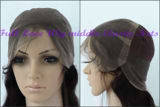Custom Celebrity Indian Remy Human Hair Lace Wig Alicia Keys Straight