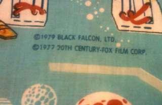 Star Wars Empire Strikes Back vintage bed sheet 1979
