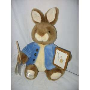 Beatrix Potter Painting Peter Rabbit Plush 15 Bunny Toys & Games