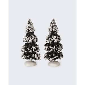 Lemax Christmas Village Collection Winter Evergreen Tree Two Piece