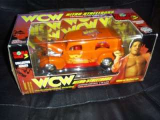 WCW NWO 1/24 Die Cast Car Disco Inferno WWE TNA ECW