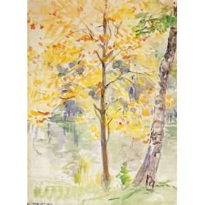 FRAMED oil paintings   Berthe Morisot   24 x 32 inches   Fall Colors