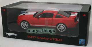 Hot Wheels Elite Ford 2007 Shelby GT500 118 New Mint