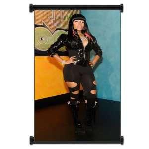 Nicki Minaj Rapper Fabric Wall Scroll Poster (16x28