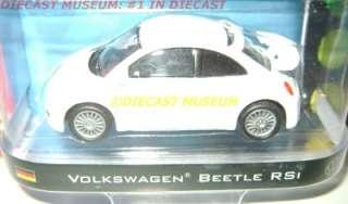 VW VOLKSWAGEN BEETLE BUG RSI MOTOR WORLD 4 DIECAST 2011